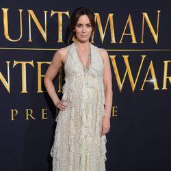Emily Blunt en el estreno de 'Las crónicas de Blancanieves: El cazador y la reina del hielo' en Los Angeles