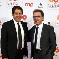 Pedro Casablanc y Jordi Hurtado en los Premios Sant Jordi 2016