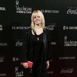 Lluvia Rojo en los Premios Valle-Inclan de Teatro 2016