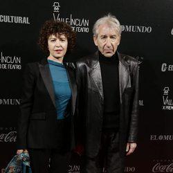 José Sacristán y Amparo Pascual en los Premios Valle-Inclan de Teatro 2016