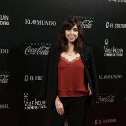 Carmen Ruiz en los Premios Valle-Inclan de Teatro 2016