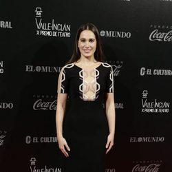 Celia Frejeiro en los Premios Valle-Inclan de Teatro 2016