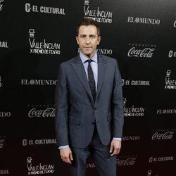 Fernando Gil en los Premios Valle-Inclan de Teatro 2016