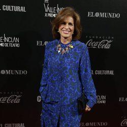 Ana Botella en los Premios Valle-Inclan de Teatro 2016