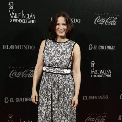 Aitana Sánchez Gijón posando en los Premios Valle-Inclan de Teatro 2016