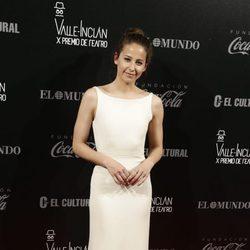 Irene Escolar en los Premios Valle-Inclan de Teatro 2016