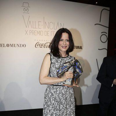 Aitana Sánchez Gijón en los Premios Valle-Inclan de Teatro 2016