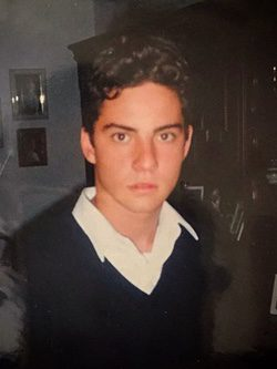 David Bisbal de adolescente