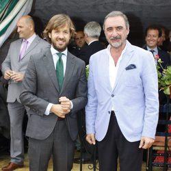 Carlos Herrera y Rosauro Varo en la Feria de Abril 2016