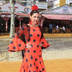 Raquel Revuelta en la Feria de Abril 2016