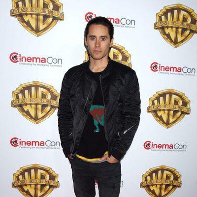 Jared Leto en la fiesta Warner en la CinemaCon 2016 en Las Vegas