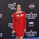 Chole Bennet en el estreno de 'Capitán América: Civil War'