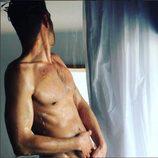 Jon Kortajarena desnudo en la ducha
