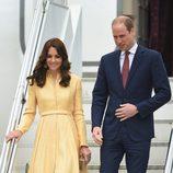 Los Duques de Cambridge llegan a Bhutan para una visita oficial
