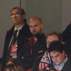 Gonzalo Miró en el partido de Champions entre el Atlético de Madrid y el Barça