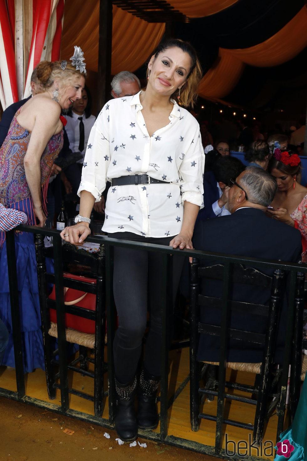 Nagore Robles en la Feria de Abril 2016