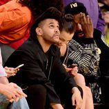 The Weeknd acude al último partido de Kobe Bryant en los Lakers