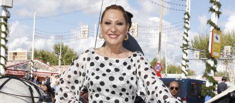 Rosa Benito en la Feria de Abril 2016