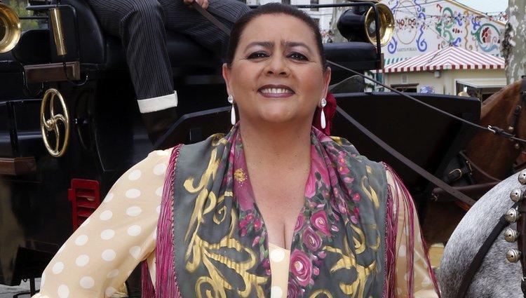 María del Monte en la Feria de Abril 2016