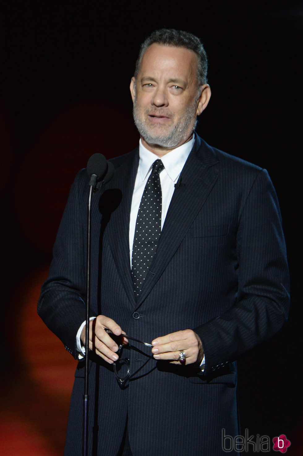 Tom Hanks en la gala benéfica de la Fundación Parker en Los Ángeles
