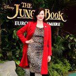 Jasmine Guinness en la presentación del 'El Libro de la Selva'  en Londres