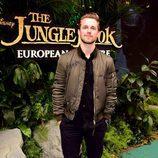 Marcus Butler en la presentación del 'El Libro de la Selva'  en Londres