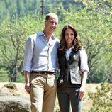 Los Duques de Cambridge de camino al monasterio Taktshang de Bhutan