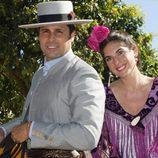 Fran Rivera y Lourdes Montes en la Feria de Abril 2016
