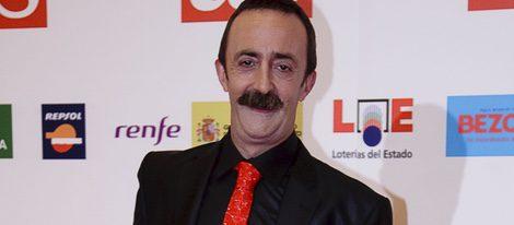 Santi Rodríguez en los Premios As del deporte en 2009