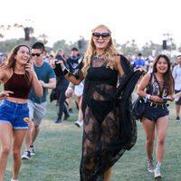 Paris Hilton en el festival de Coachella 2016