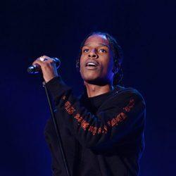 A$AP Rocky actuando en el festival de Coachella 2016