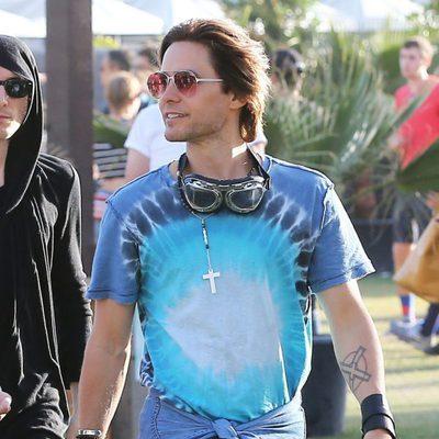 Jared Leto en el festival de Coachella 2016