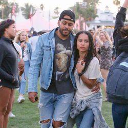 Zoë Kravitz en el festival de Coachella 2016