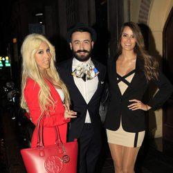 Amanda, Aritz y Carolina de 'GH 16' en la fiesta final de 'Gran Hermano VIP 4'