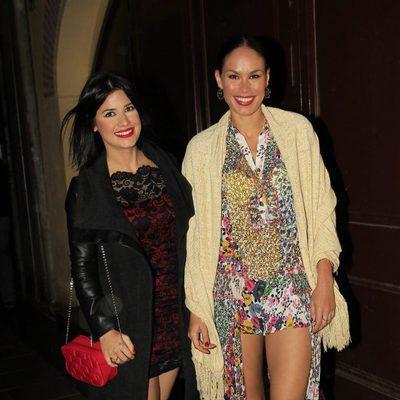 Mireia Canalda y Ares Teixidò en la fiesta final de 'Gran Hermano VIP 4'