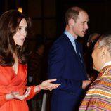 Los Duques de Cambridge en una cena de cooperación entre Inglaterra y Bhutan