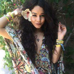 Vanessa Hudgens en el festival de Coachella 2016