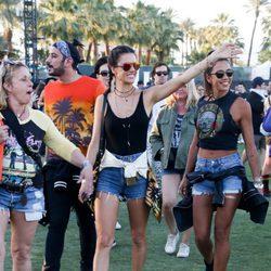 Alessandra Ambrosio en el festival de Coachella 2016