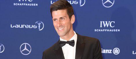 Novak Dokovic en los Premios Laureus 2016 en Berlín