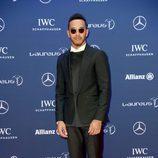 Lewis Hamilton en los Premios Laureus 2016 en Berlín