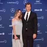 Jens Lehmann and Conny Lehmann en los Premios Laureus 2016 en Berlín