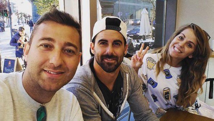 Yoli, Jonathan y Vitín, de 'GH 15',  se reencuentran en Valencia