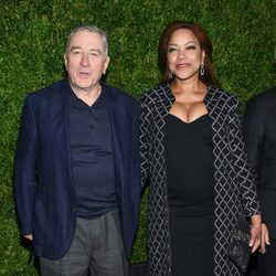 Robert De Niro y su mujer Grace Hightower en la cena de Chanel en el Festival de Tribeca 2016 en Nueva York