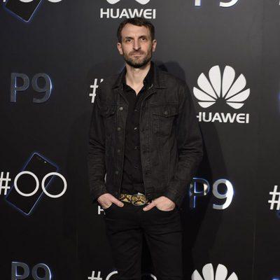 Julián Villagrán en una fiesta organizada por una empresa de tecnología móvil