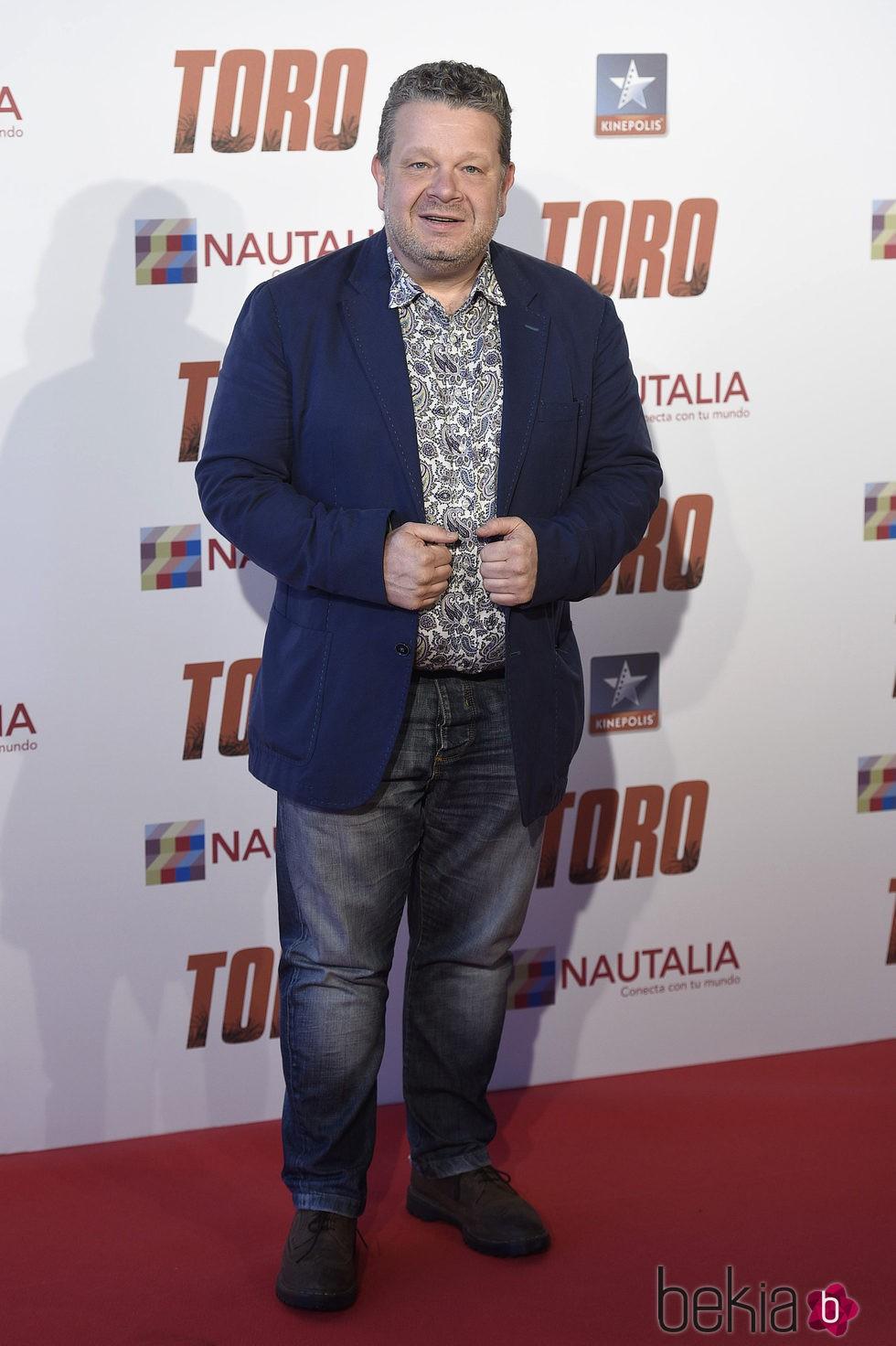 Alberto Chicote en la premiere de 'Toro' en Madrid