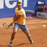 Rafa Nadal en su debut en el Torneo Conde de Godó 2016