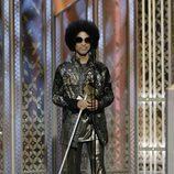 Prince en los Globos de Oro 2015