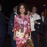 Isabel Gemio en la presentación del sello de Rocío Jurado