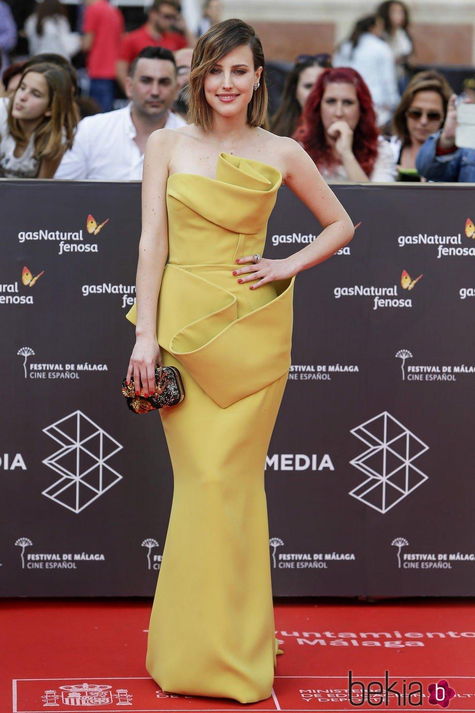 Natalia de Molina en la gala de inauguración del Festival de Cine de Málaga 2016
