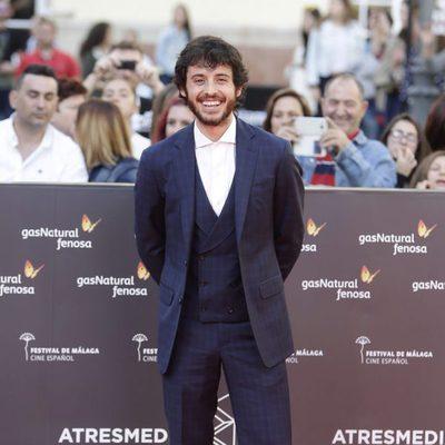 Javier Pereira en la gala de inauguración del Festival de Cine de Málaga 2016